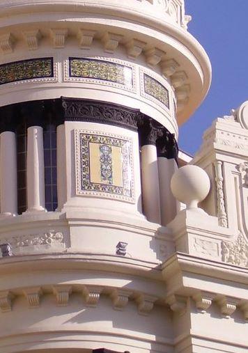 Notas cordobesas edificio de la uni n y el f nix espa ol for Edificio de los azulejos