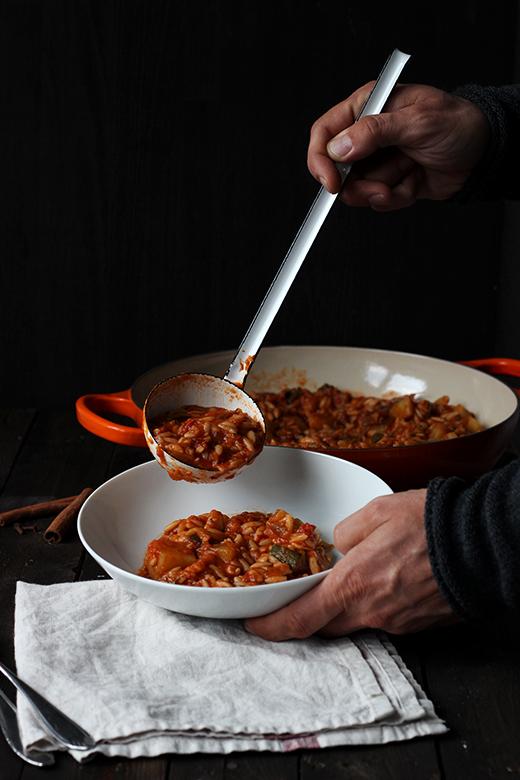 Stifado, vegetarisch, vegan, griechischer Schmortopf mit Gemüse, einfaches Rezept, Holunderweg18