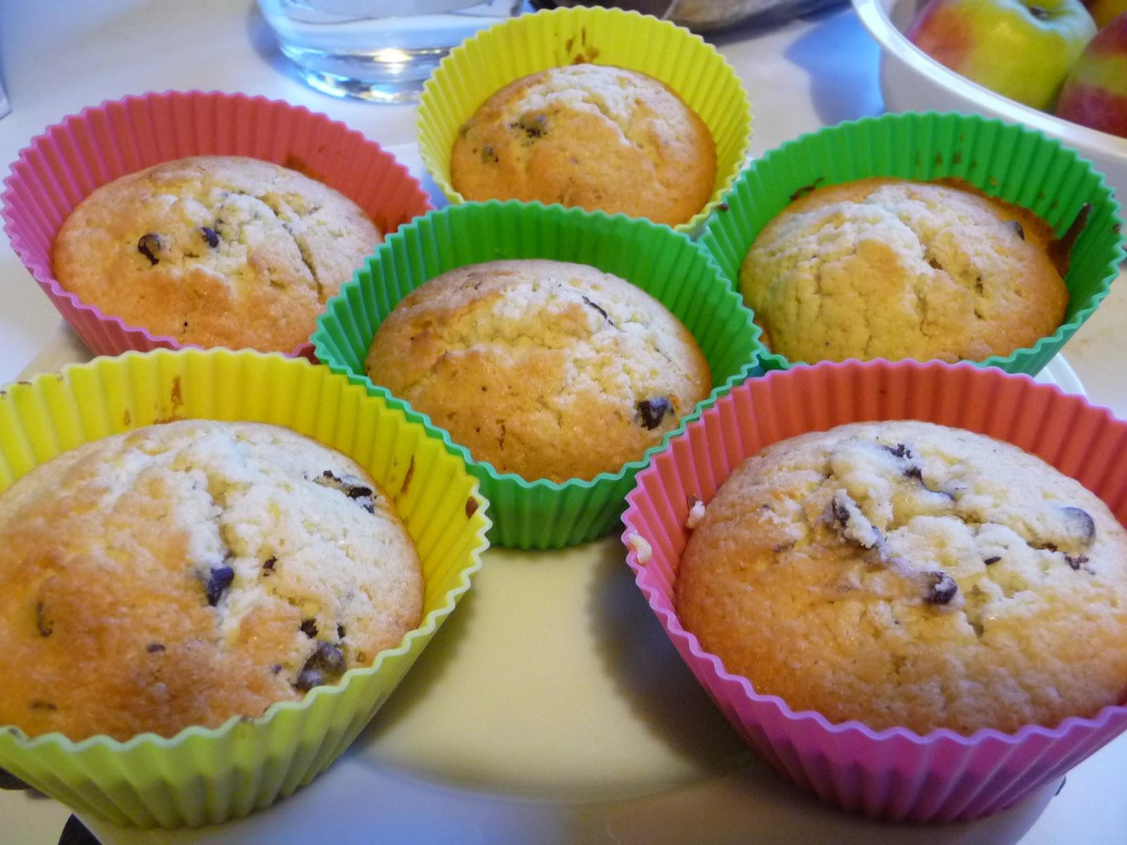 la rubrique  u00e0 brac  recette de muffin aux p u00e9pites de chocolat ultrafacile