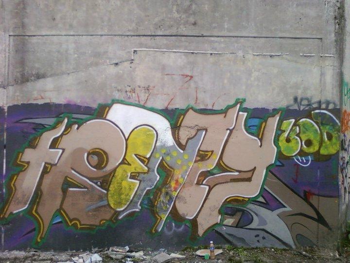 Labels Character Graffiti Legal Wall