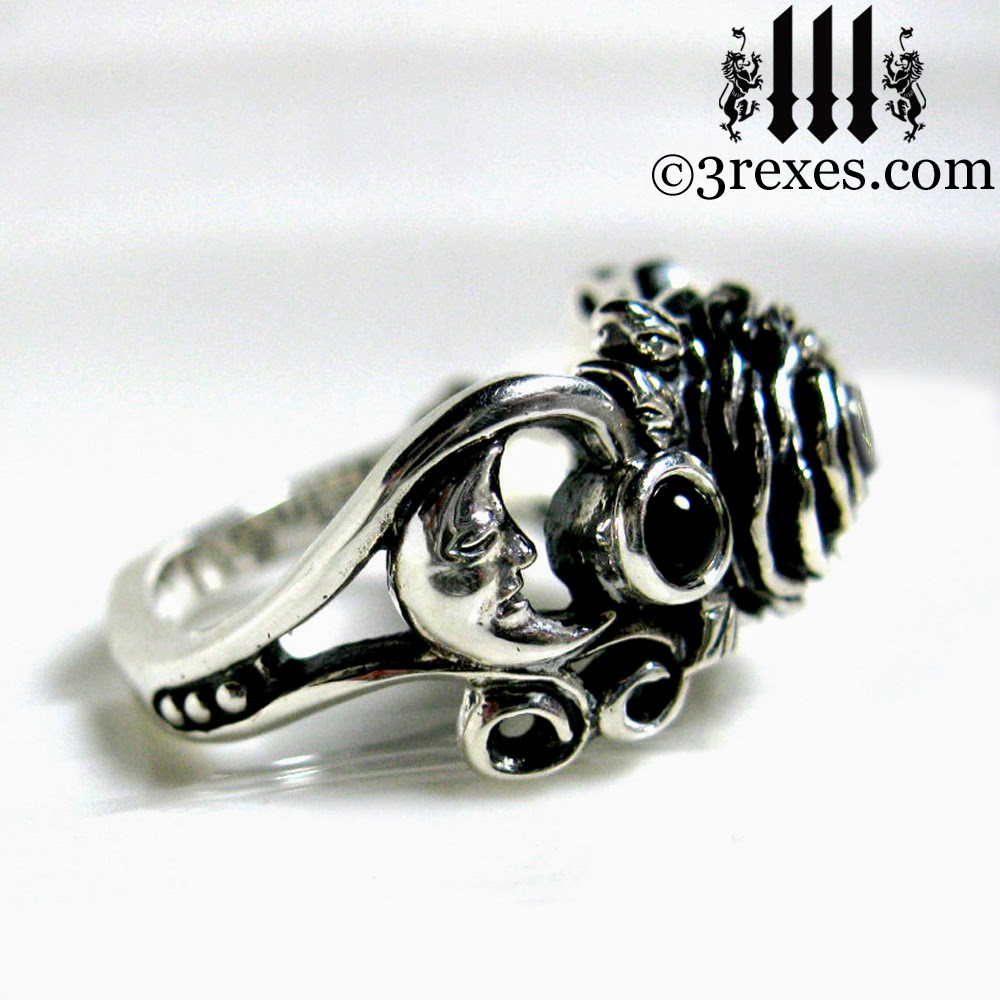 Goth Wedding Bands