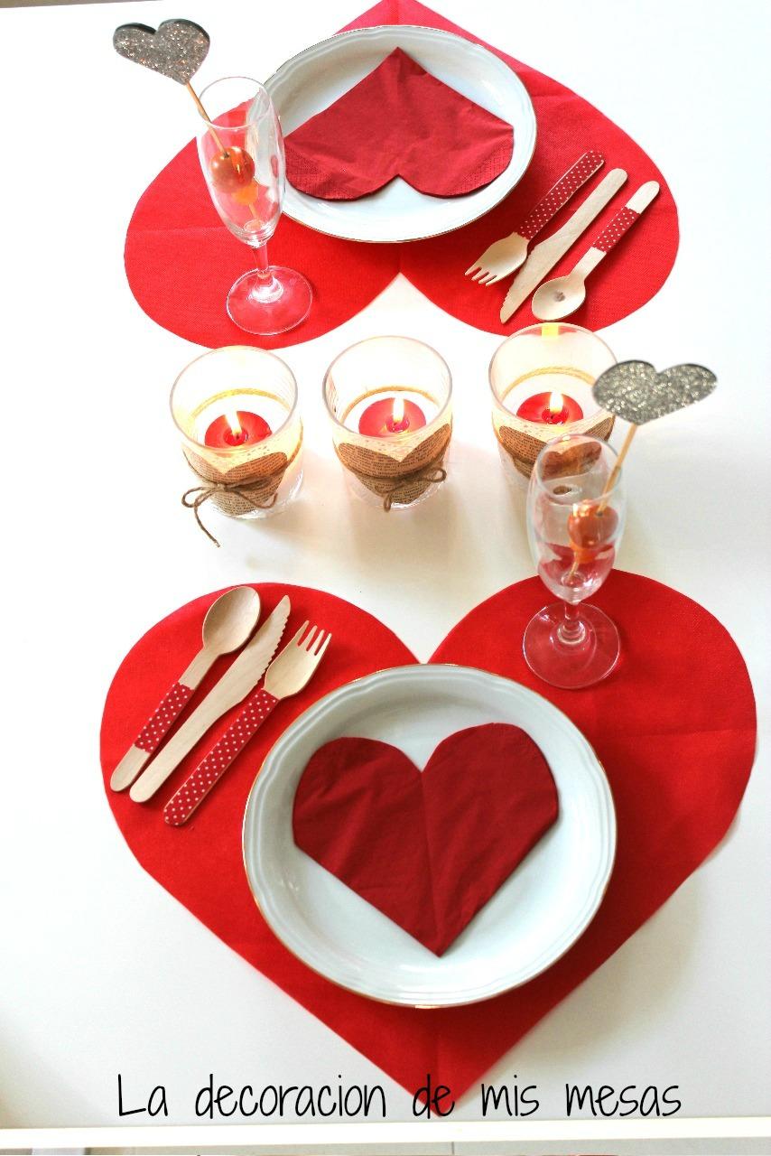 Una mesa de san valent n para dos for Decoracion san valentin pinterest