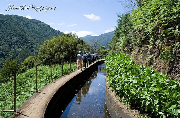 Levada Walks (levadas)-the water channels across Madeira  (Portugal)
