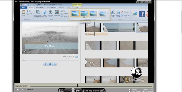 Demo of Windows Live Movie Maker