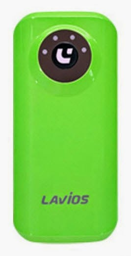 Lavios Power Bank PB-512C - 5200 mAh