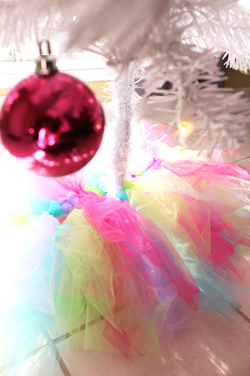 Tutu Tree Skirt by Jessica Marie Design