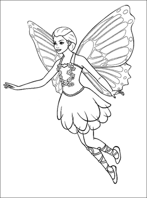 Vibrant image regarding printable fairy coloring pages