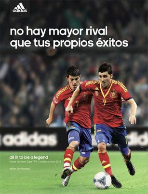 camiseta nueva selección españa Copa Confederaciones 2013 adidas