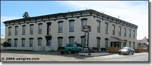 The St. James Hotel in Cimarron, NM - C. 2006