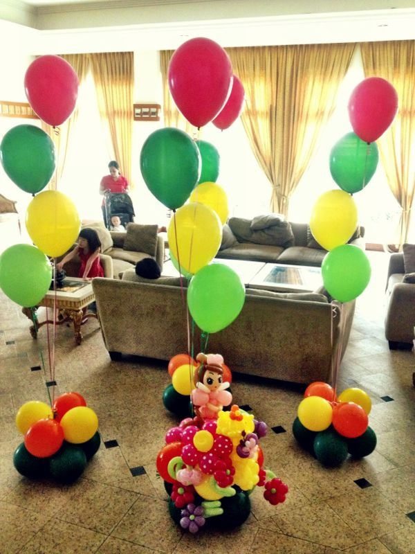 Helium balloons and more call us on 8722008855 for Balloon decoration ideas no helium