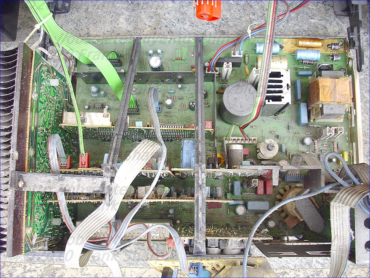 Obsolete Technology Tellye Grundig M70 590 9 Top Monolith Chassis Variac Variable Transformer Wire Diagram Free Download Wiring The Serial Circuit And Primary Winding Of Flyback Are Connected In Series To Input Voltage During Switch On Period