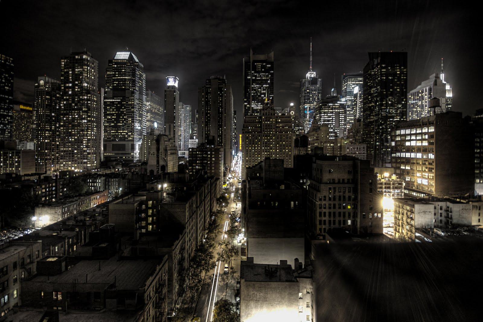 new york at night -#main
