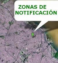 Zonas de Notificación