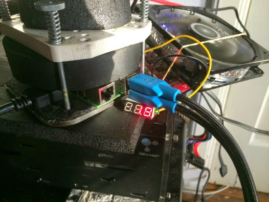 Overclock no Raspberry Pi, créditos: Joost Verhelst