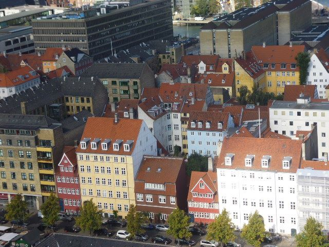 Vistas desde la Iglesia de San Salvador en Christianshavn