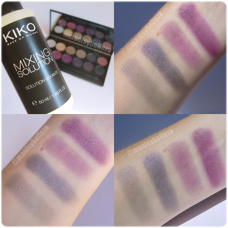 últimas compras, primeras impresiones Kiko Mixing solution