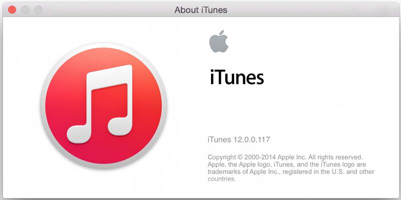 iTunes 12 (12.0.0.117)