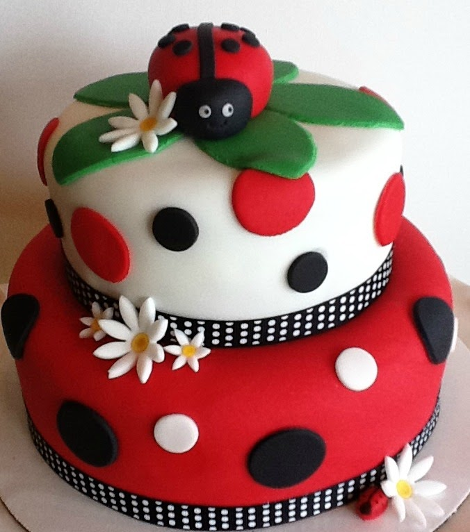 ... & event design service: {Real Parties} Lady Bug First Birthday Party