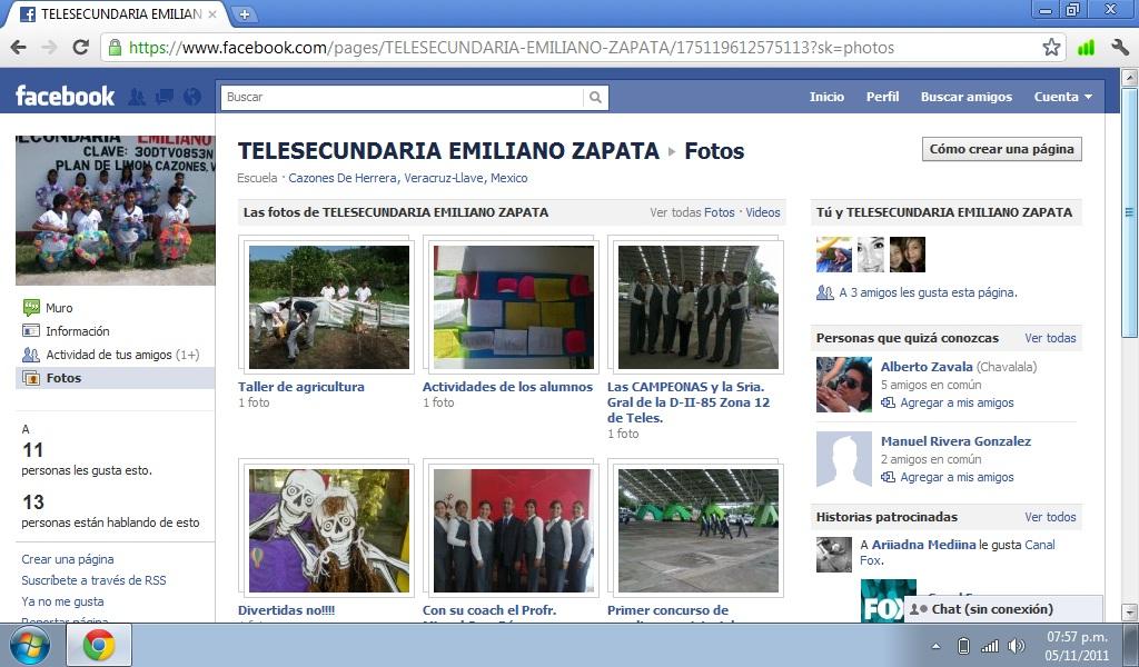 """FELICIDADES ESCUELA TELESECUNDARIA 30DTV0853N """"EMILIANO ZAPATA"""""""