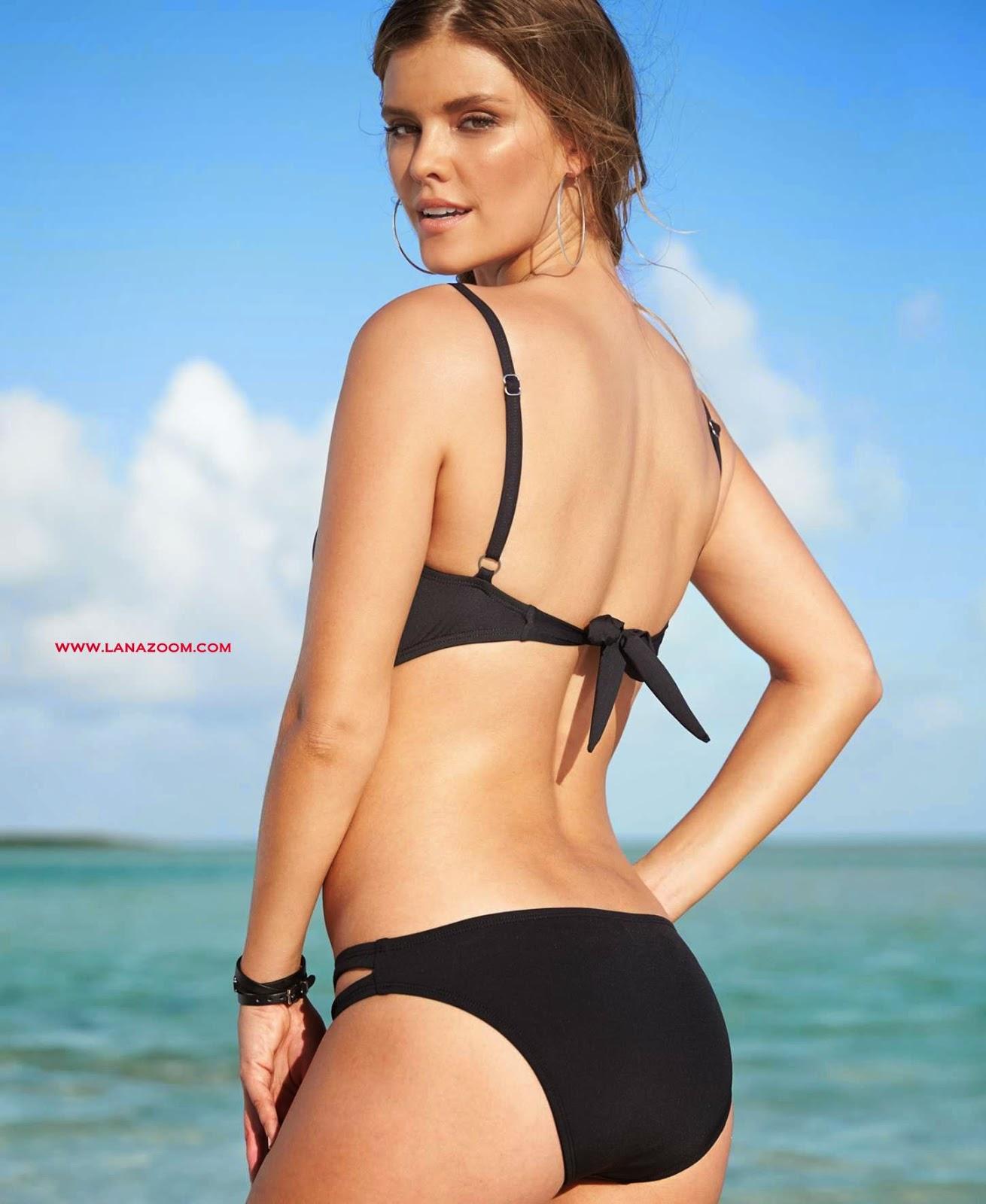 عارضة الازياء نينا أكدال في صور بملابس السباحة 2015
