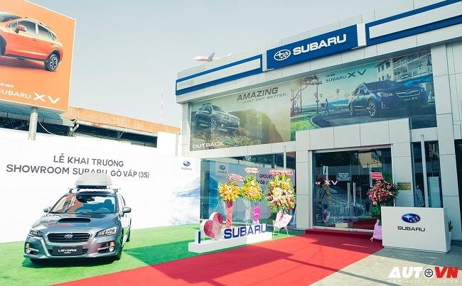 Showroom Subaru 3S