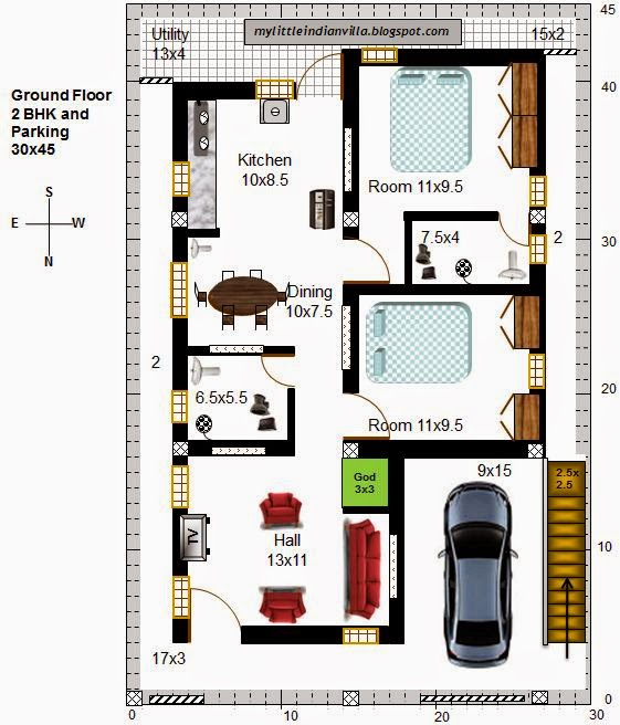 House Plans  House Plans North Facing Home Deco Plans