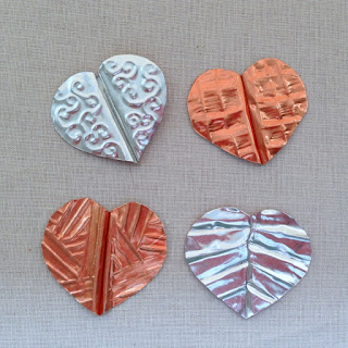 How to use aluminum and copper foil sheets for bead and jewelry making craft projects