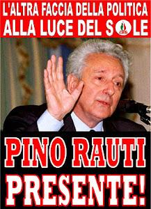 Pino Rauti: presente!