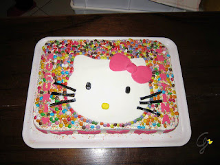 pasta di zucchero torta hello kitty