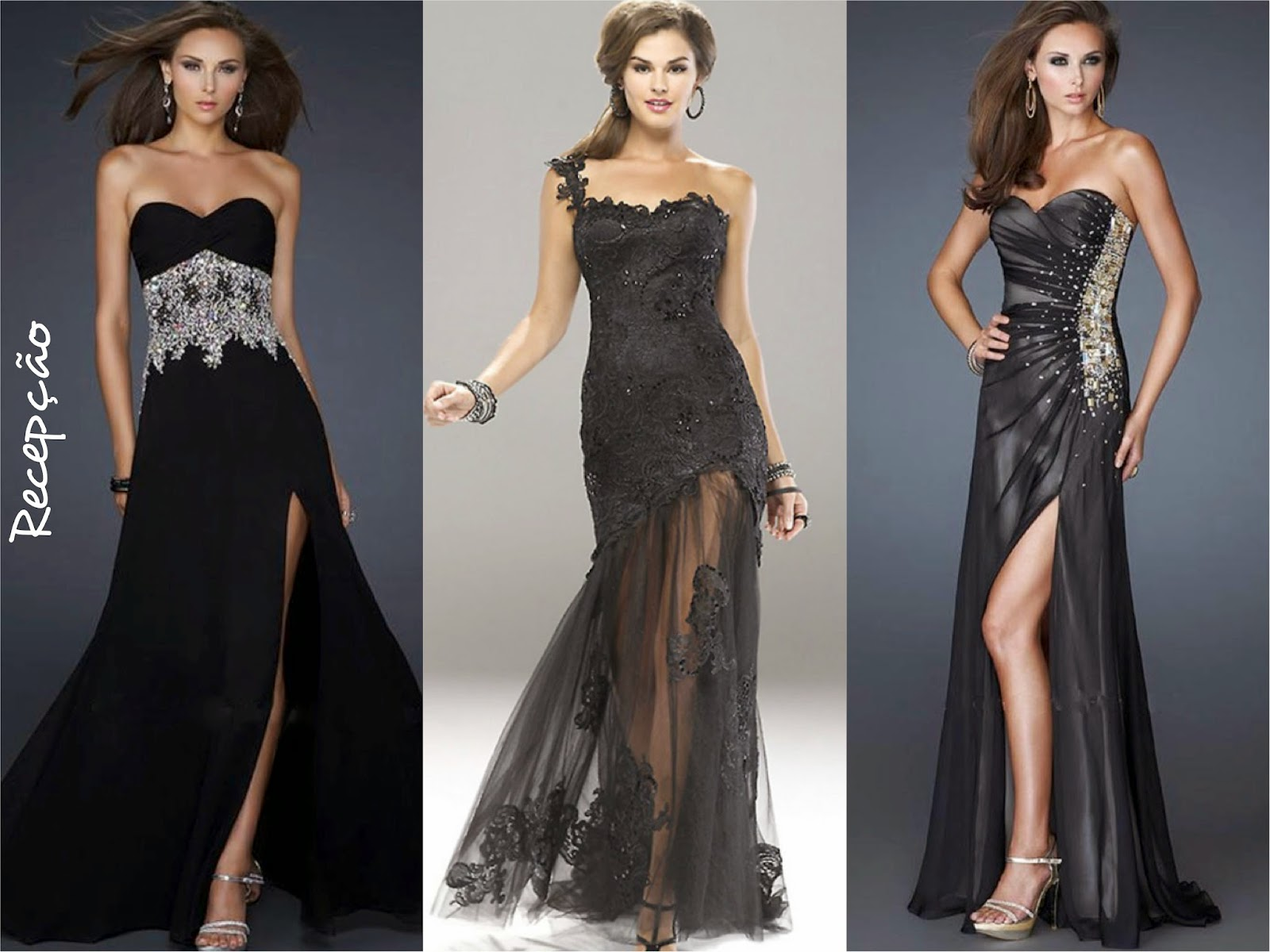 vestido debutante recepção
