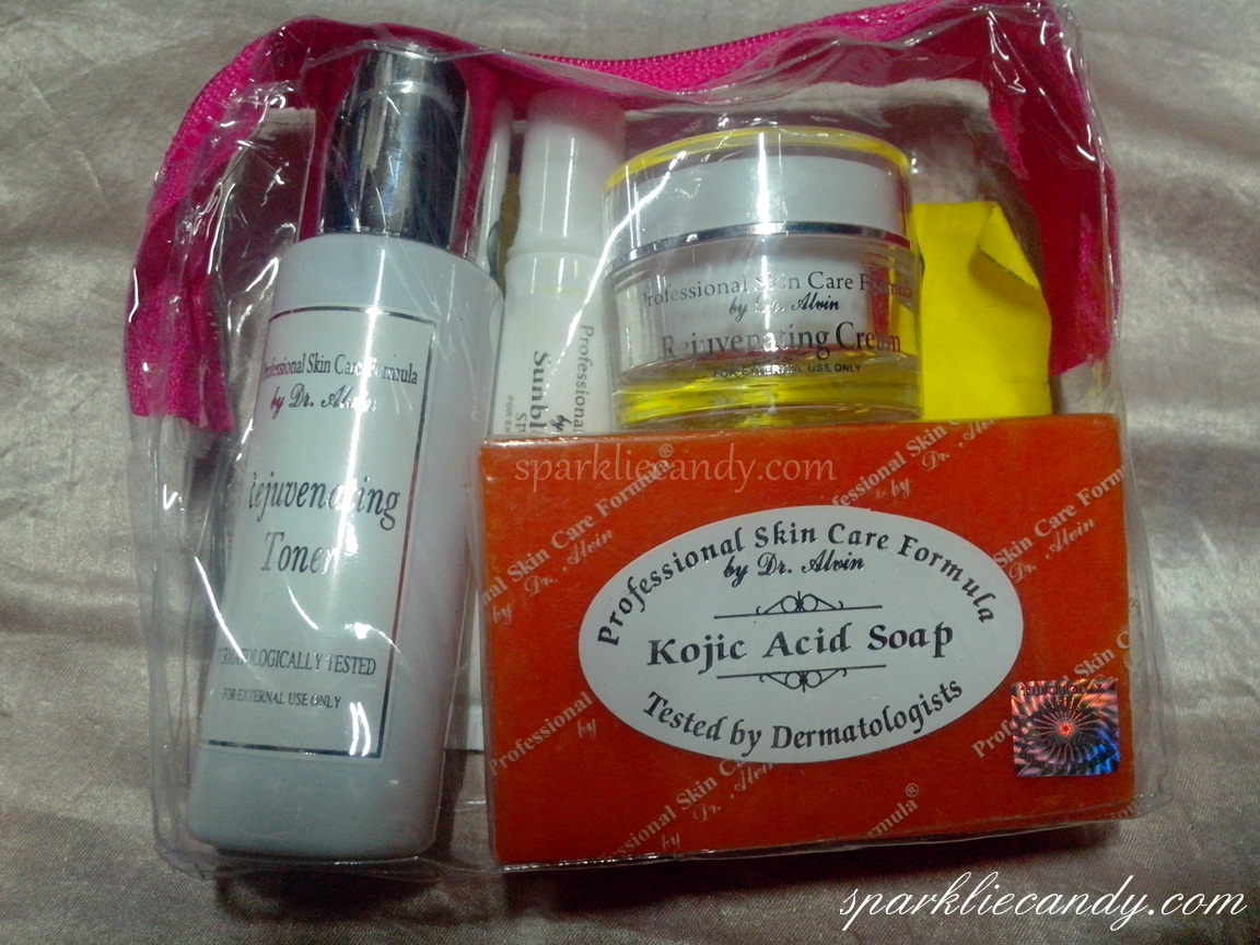 My Name Is Chien First Impression Professional Skin Care Formula By Dr Alvin Rejuvenating Set