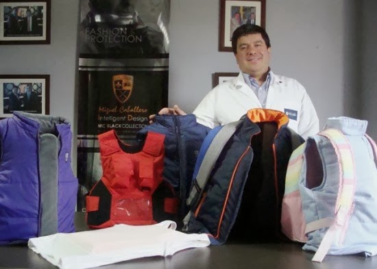 Colombian Company Specializes in Stylish Bulletproof Clothing