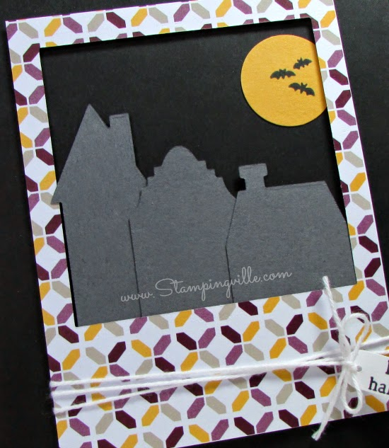 Simple and quick Halloween card for all ages | Stampingville