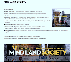 17th CONFERENCE ARQUITECTONICS MIND, LAND AND SOCIETY 2019, UPC, Barcelona, Spain