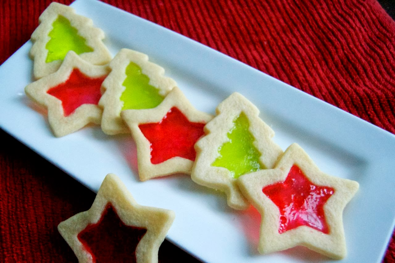 Stained Glass Cookies - 365 Days of Baking
