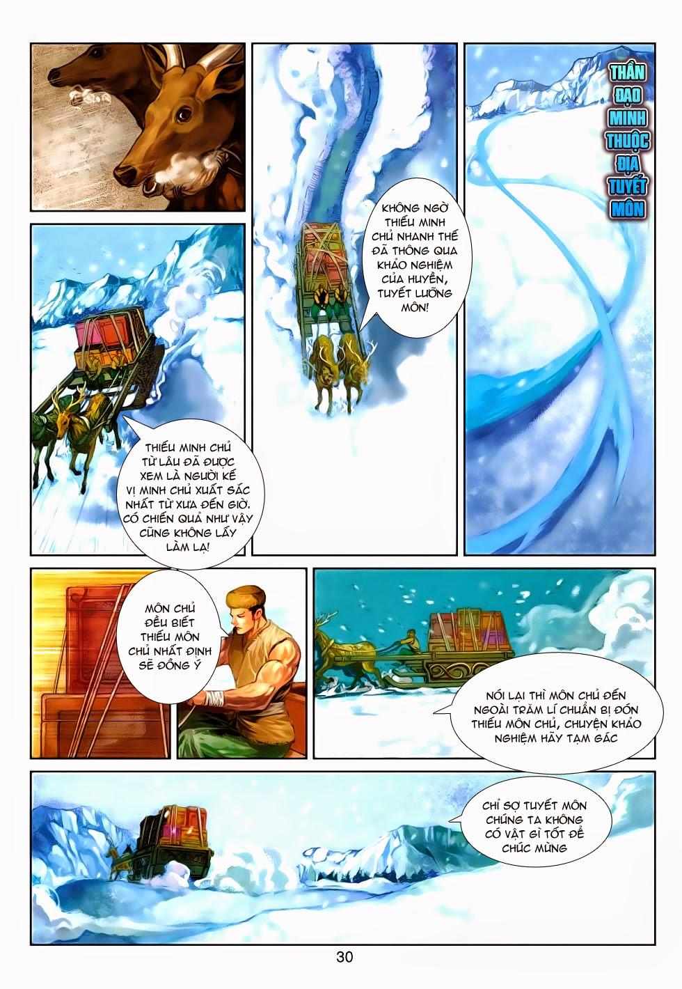 Thần Binh Tiền Truyện 4 - Huyền Thiên Tà Đế chap 5 - Trang 30