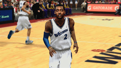 NBA 2K13 John Wall Cyberface Patch