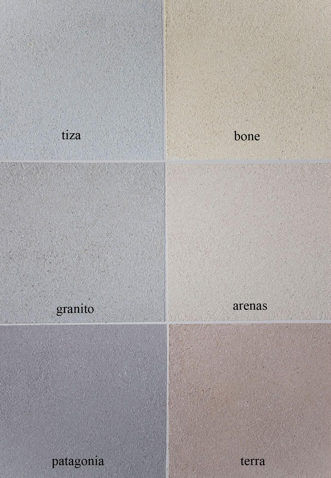 Revestimiento plastico texturado para exteriores - Pintura color piedra ...