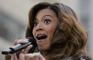 funny face of beyonce