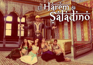 De cuando Aguilar fue tomado por Saladino y su harem…