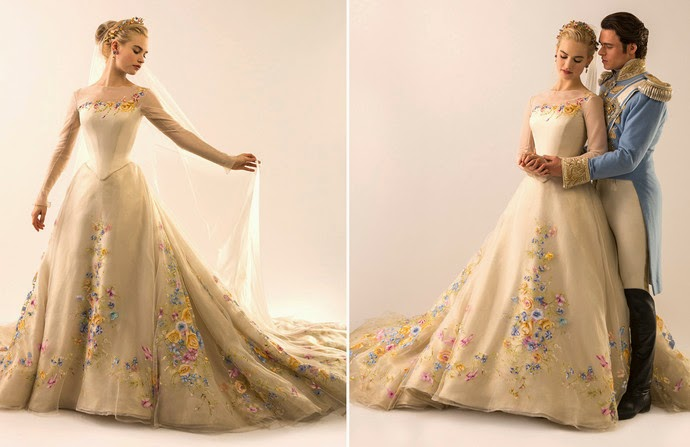 mis vestidos de novia: novias de cine: cenicienta (película de 2015
