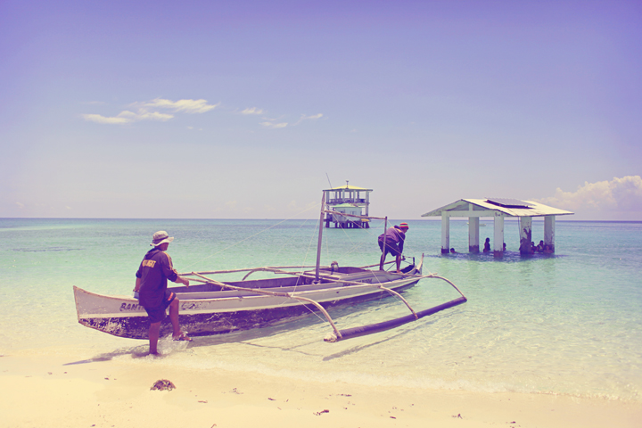 Marine Reserve, Carbin Reef, Sagay City.