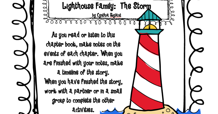 Pitners Potpourri Lighthouse Family The Storm Text Exemplar