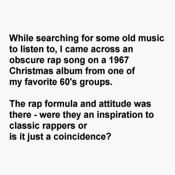 Now Whatcha Playin?: Pioneer of Rap Music: Obscure Rap Song on a ...