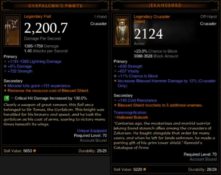 Crusader Build Diablo  Farming