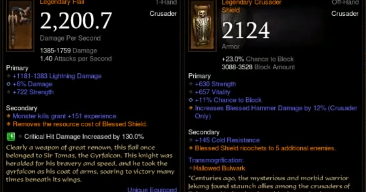 Diablo  S Divine Shield Build
