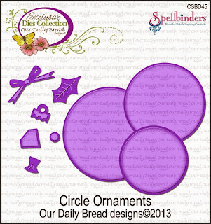 Our Daily Bread Designs Custom Circle Ornaments