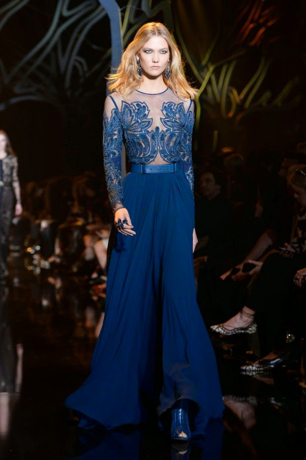 Fashion Model @ Karlie Kloss - Elie Saab 2015 fashion show in Paris