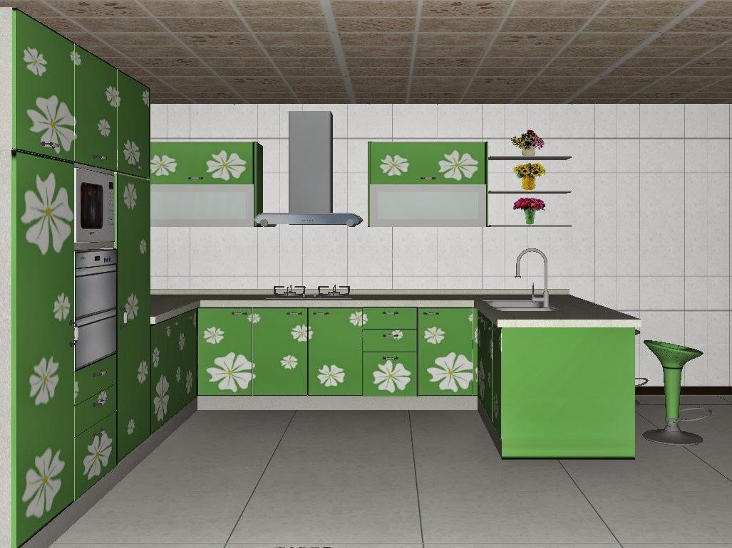 fotos de armários de cozinha #466E35 1027 770