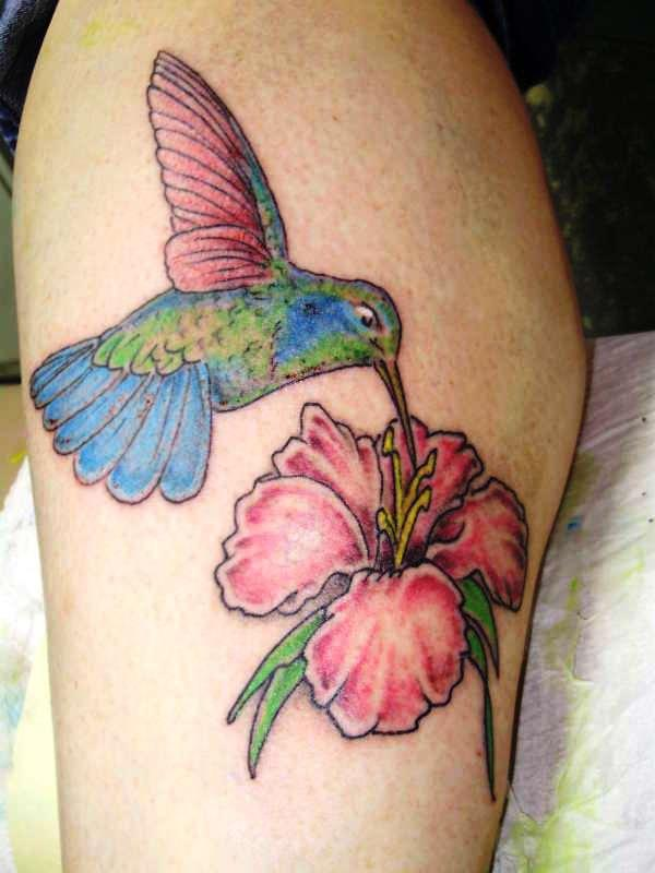 tattoos of humming bird hummingbird tattoo designs with flowers. Black Bedroom Furniture Sets. Home Design Ideas